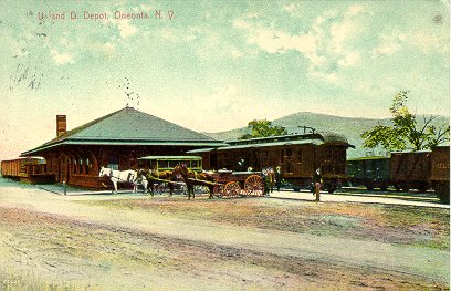 Oneonta Station
